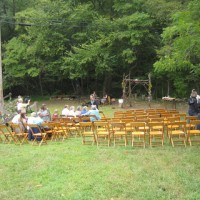 wedding in the apple orchard