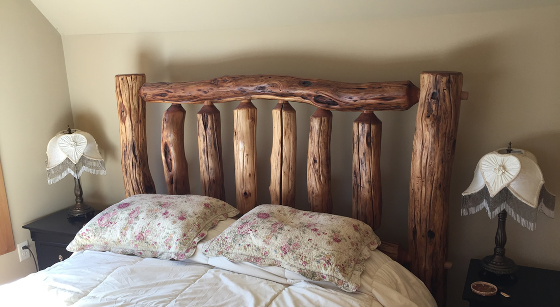 Hand-crafted, Locally-made Bedframe
