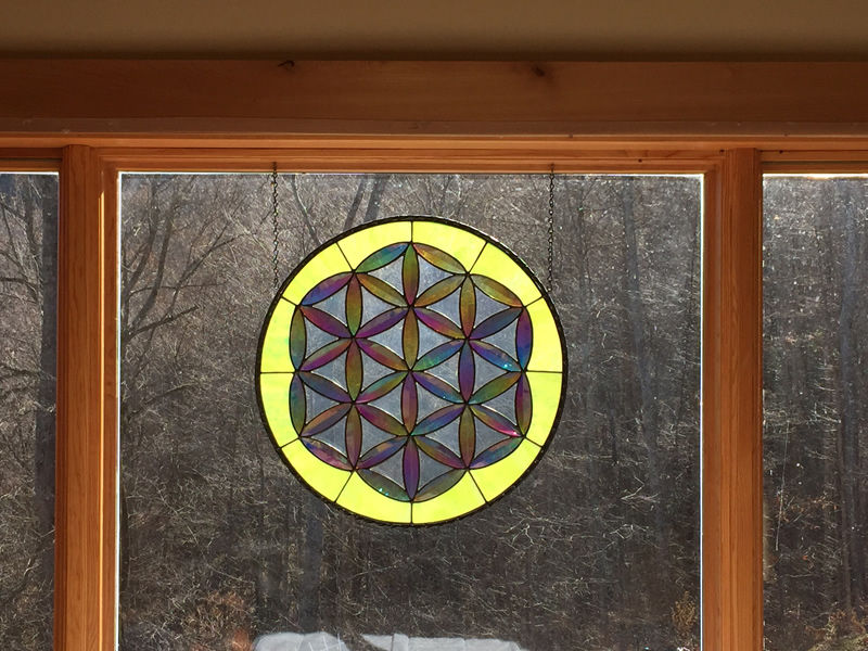 Stained Glass By a Local Artist