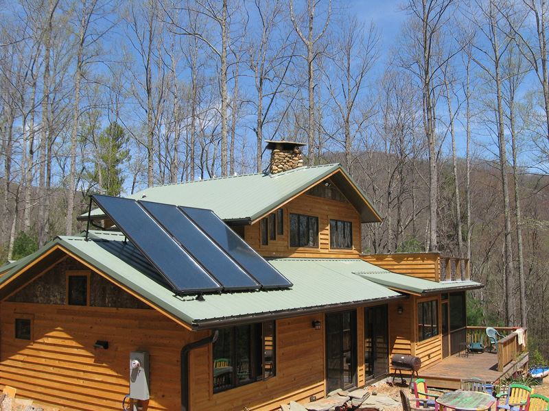 Solar Hot Water and Radiant Floor Heating