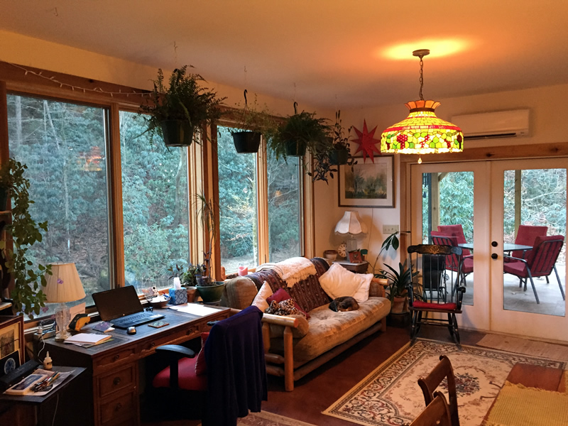 A New Passive Solar Sun-room