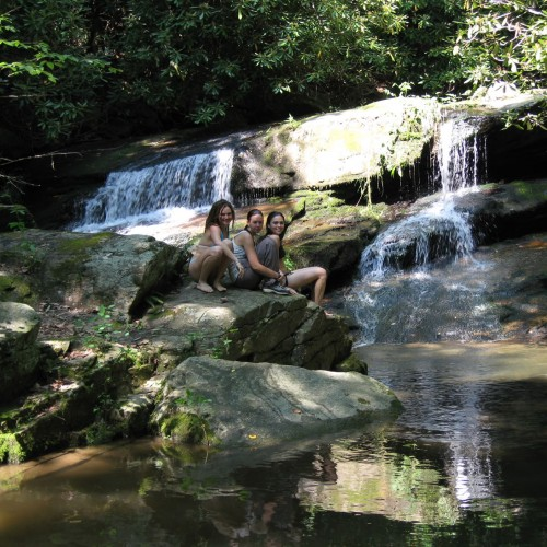 Swimming Hole on Hickory Nut Creek